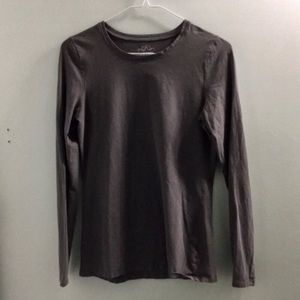 Old Navy Gray Long Sleeve Top